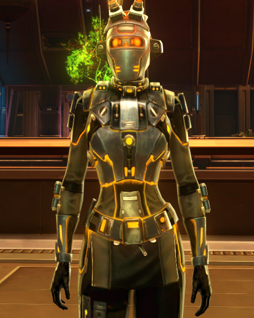 Gold Scalene Armor Set Preview from Star Wars: The Old Republic.