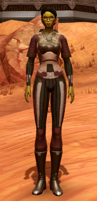 Bolted (Imperial) Armor Set Outfit from Star Wars: The Old Republic.