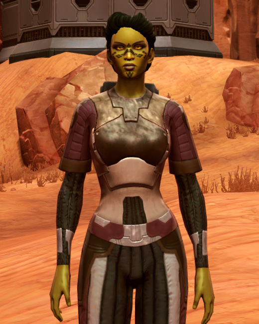 Bolted (Imperial) Armor Set Preview from Star Wars: The Old Republic.