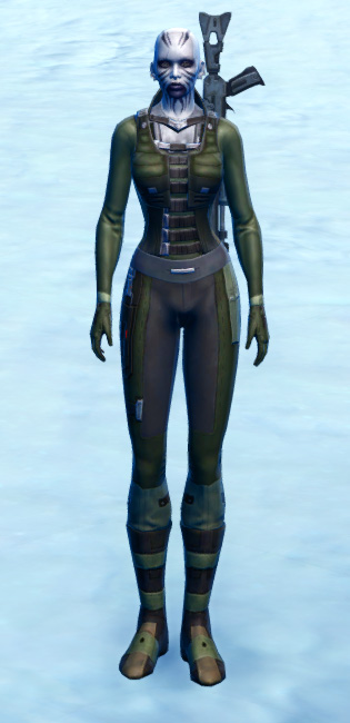 Hardweave Armor Set Outfit from Star Wars: The Old Republic.