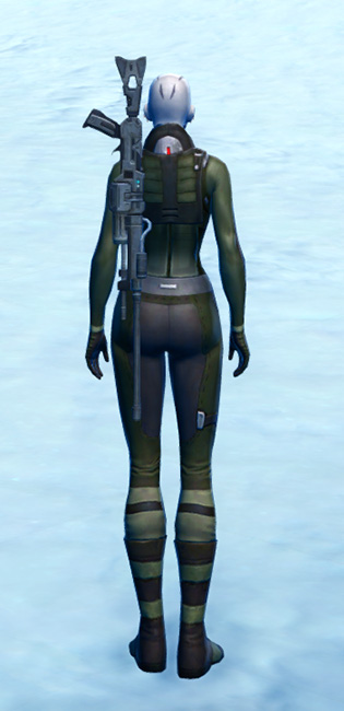 Hardweave Armor Set player-view from Star Wars: The Old Republic.