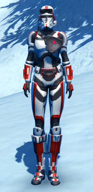 Havoc Squad Armor Set Outfit from Star Wars: The Old Republic.