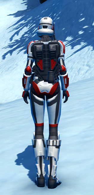Havoc Squad Armor Set player-view from Star Wars: The Old Republic.
