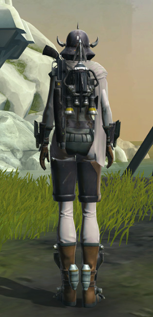 Headhunter Armor Set player-view from Star Wars: The Old Republic.