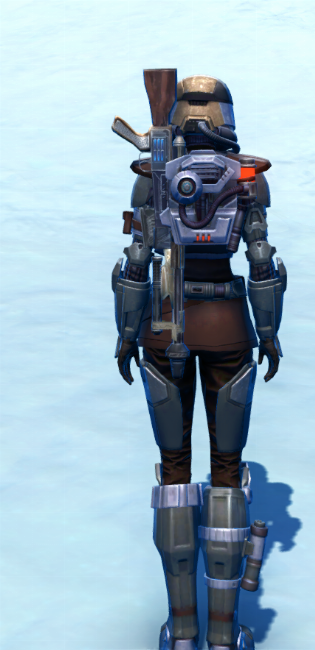 Holoshield Trooper Armor Set player-view from Star Wars: The Old Republic.