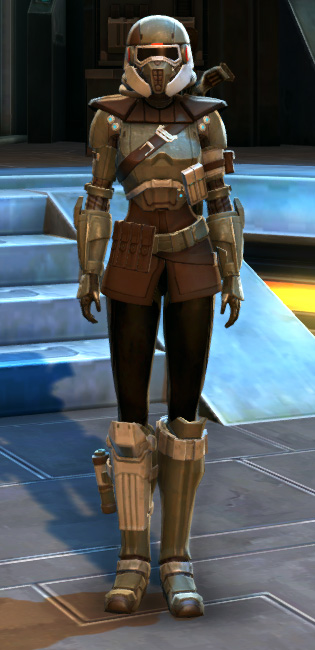 Holoshield Trooper Armor Set Outfit from Star Wars: The Old Republic.