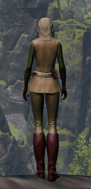 Humble Hero Armor Set player-view from Star Wars: The Old Republic.