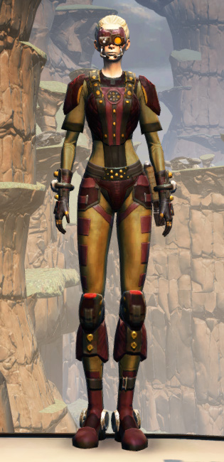 Hutt Cartel Armor Set Outfit from Star Wars: The Old Republic.