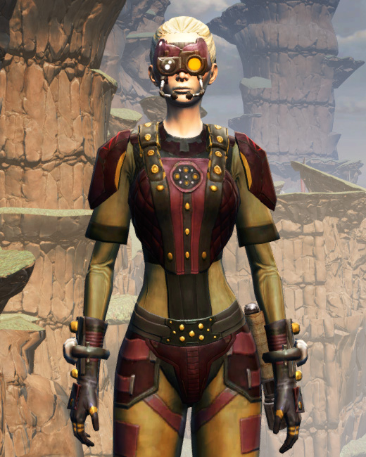 Hutt Cartel Armor Set Preview from Star Wars: The Old Republic.