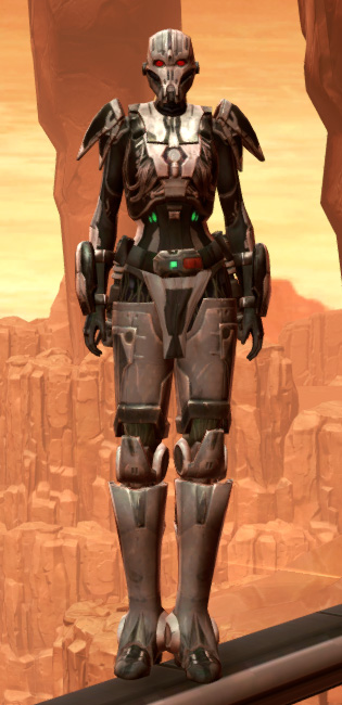 Hypercloth Aegis Armor Set Outfit from Star Wars: The Old Republic.