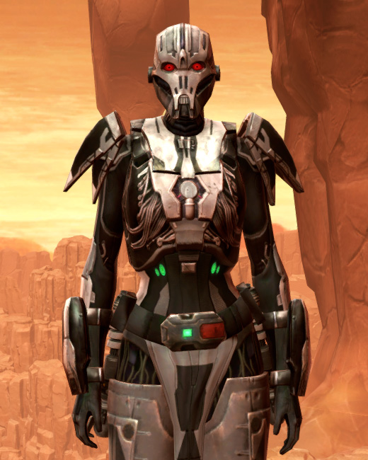 Hypercloth Aegis Armor Set Preview from Star Wars: The Old Republic.