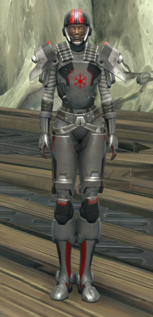 Imperial Huttball Away Uniform Armor Set Outfit from Star Wars: The Old Republic.