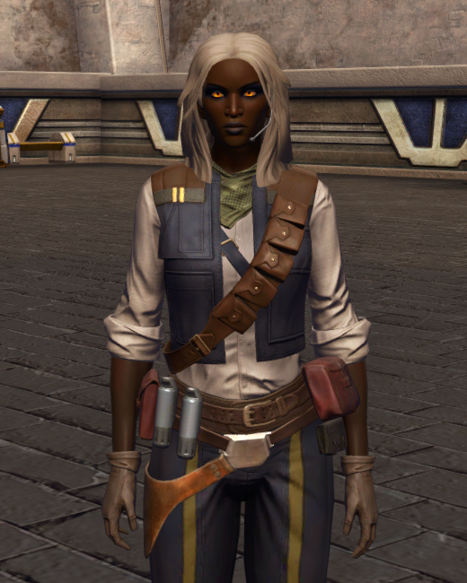 Impulsive Adventurer Armor Set Preview from Star Wars: The Old Republic.