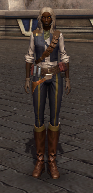 Impulsive Adventurer Armor Set Outfit from Star Wars: The Old Republic.