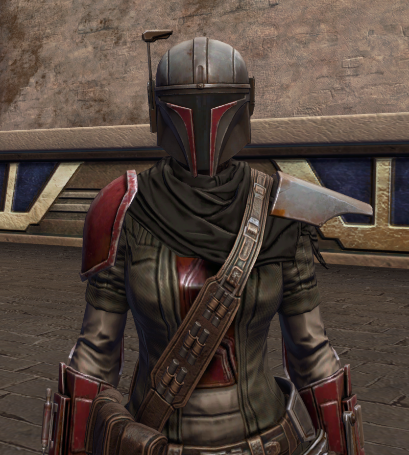 Infamous Bounty Hunter Armor Set from Star Wars: The Old Republic.
