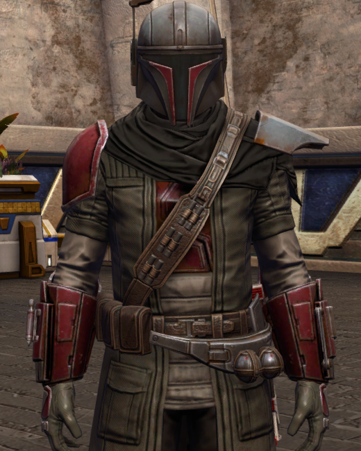 Infamous Bounty Hunter Armor Set Preview from Star Wars: The Old Republic.