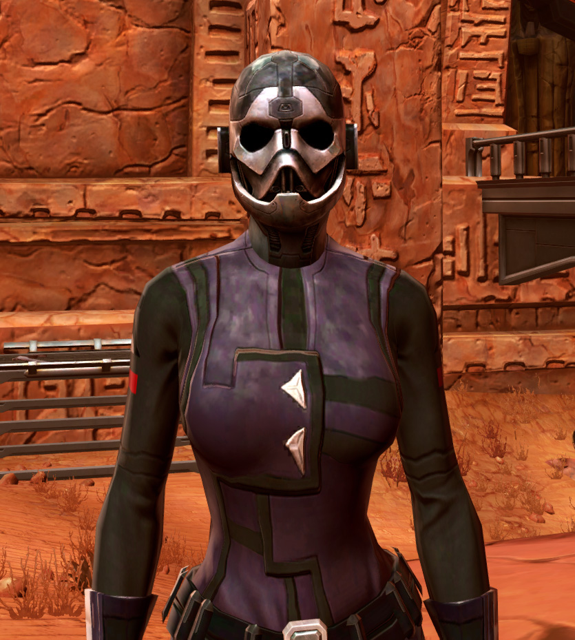Initiate Armor Set from Star Wars: The Old Republic.