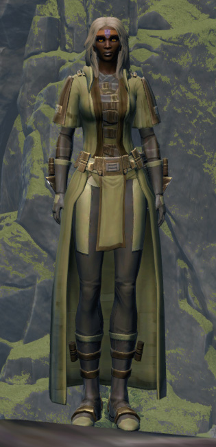 Initiate Armor Set Outfit from Star Wars: The Old Republic.