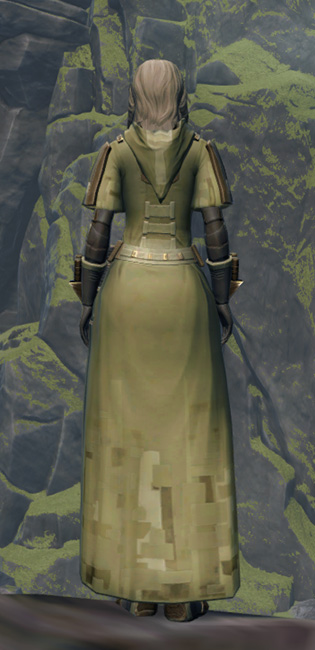 Initiate Armor Set player-view from Star Wars: The Old Republic.