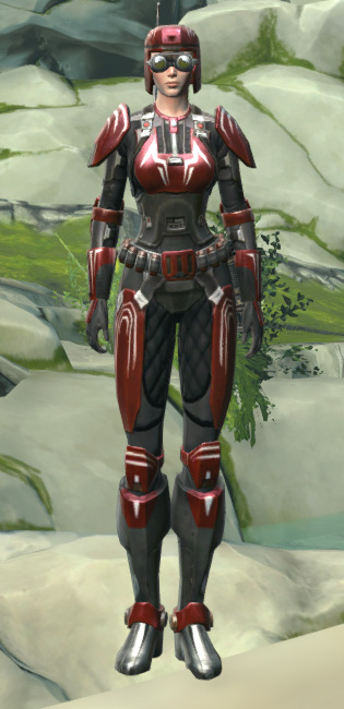 Interceptor Armor Set Outfit from Star Wars: The Old Republic.