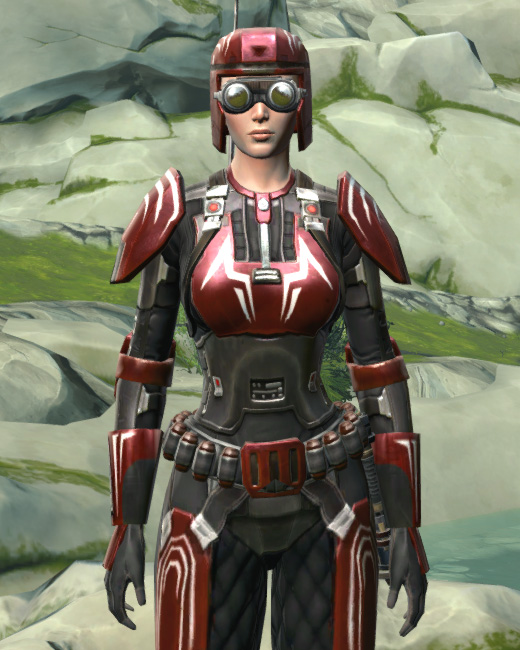 Interceptor Armor Set Preview from Star Wars: The Old Republic.