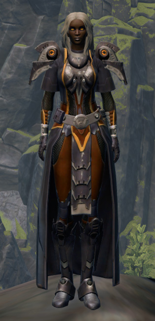 Intimidator Armor Set Outfit from Star Wars: The Old Republic.