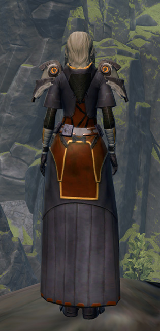 Intimidator Armor Set player-view from Star Wars: The Old Republic.