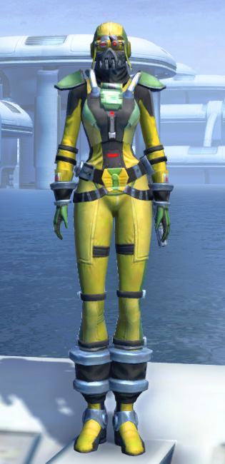 J-34 Biocontainment Armor Set Outfit from Star Wars: The Old Republic.
