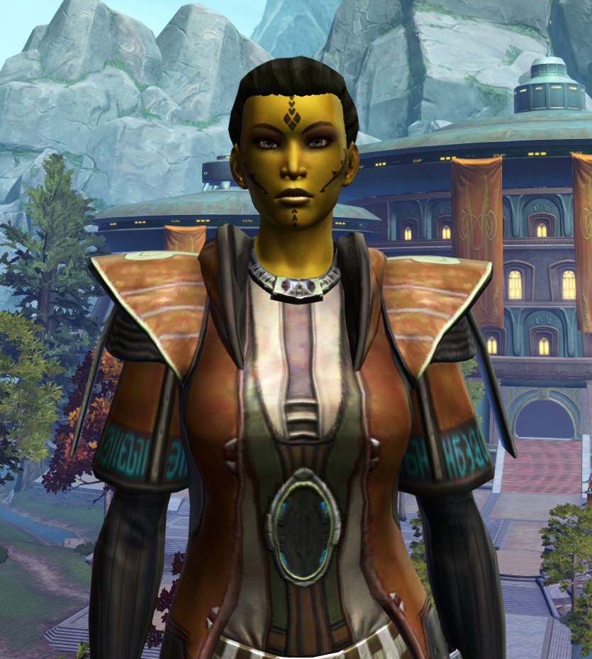 Jedi Initiate Armor Set from Star Wars: The Old Republic.