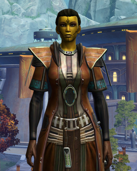 Jedi Initiate Armor Set Preview from Star Wars: The Old Republic.