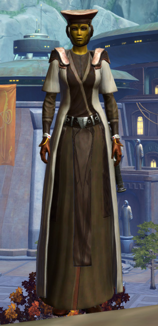 Jedi Sage Armor Set Outfit from Star Wars: The Old Republic.