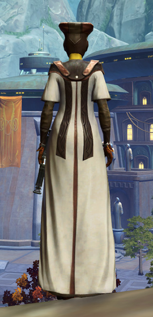 Jedi Sage Armor Set player-view from Star Wars: The Old Republic.