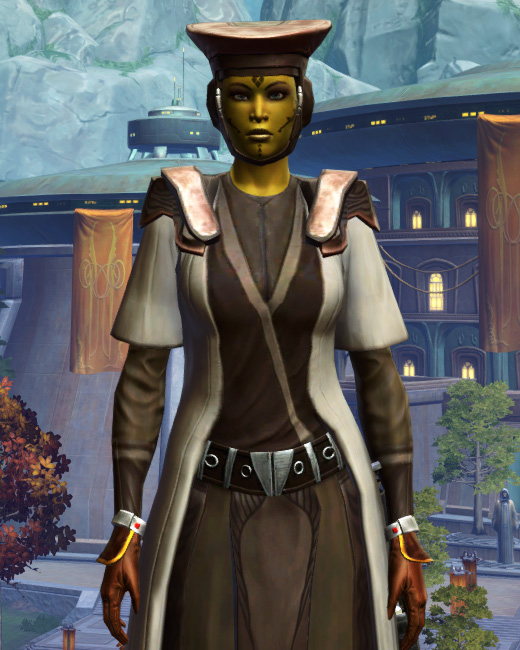 Jedi Sage Armor Set Preview from Star Wars: The Old Republic.