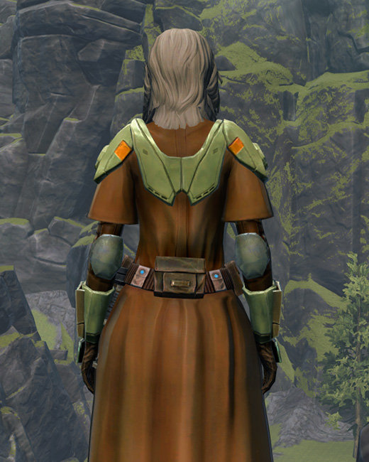 Jedi Stormguard Armor Set Back from Star Wars: The Old Republic.