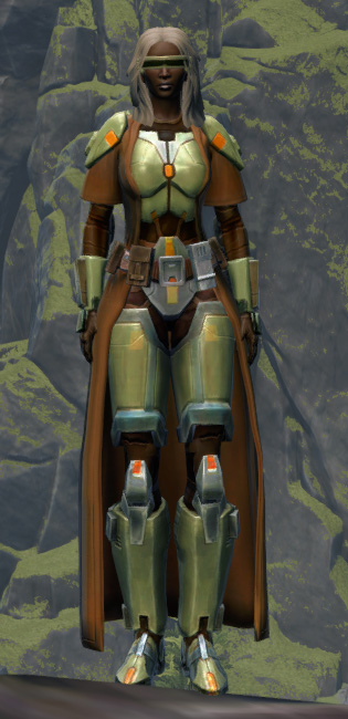Jedi Stormguard Armor Set Outfit from Star Wars: The Old Republic.