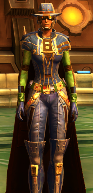 Kingpin dyed in SWTOR.