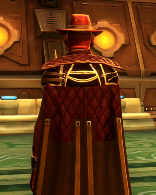 Kingpin Armor Set Back from Star Wars: The Old Republic.