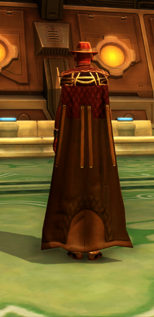 Kingpin Armor Set player-view from Star Wars: The Old Republic.