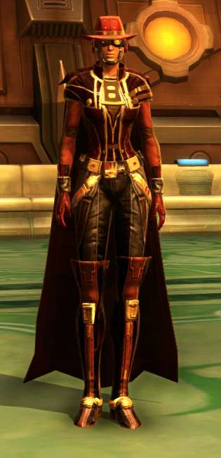 Kingpin Armor Set Outfit from Star Wars: The Old Republic.