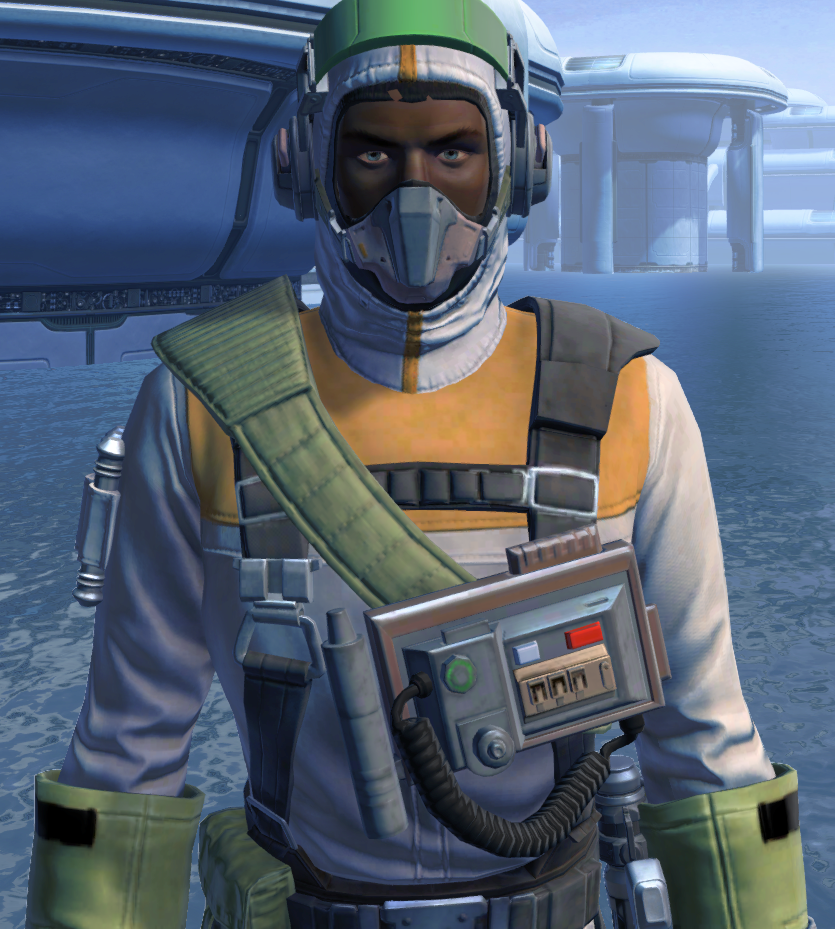 Lab Technician Armor Set from Star Wars: The Old Republic.