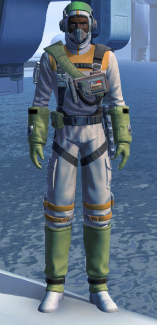 Lab Technician Armor Set Outfit from Star Wars: The Old Republic.