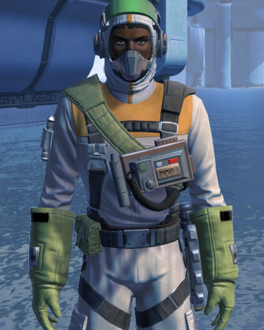 Lab Technician Armor Set Preview from Star Wars: The Old Republic.