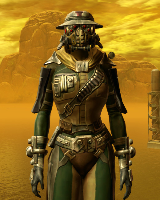 Lacqerous Mesh Armor Set Preview from Star Wars: The Old Republic.