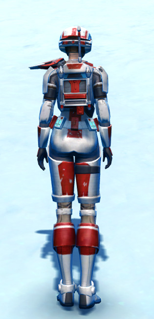 Lacqerous Mesh Armor Set player-view from Star Wars: The Old Republic.