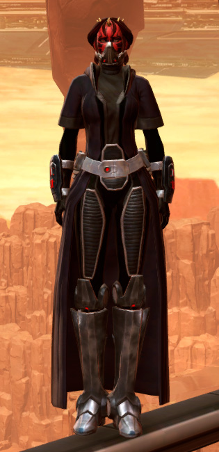 Lashaa Aegis Armor Set Outfit from Star Wars: The Old Republic.