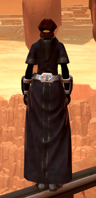 Lashaa Aegis Armor Set player-view from Star Wars: The Old Republic.