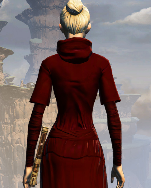 Life Day Robes Armor Set Back from Star Wars: The Old Republic.