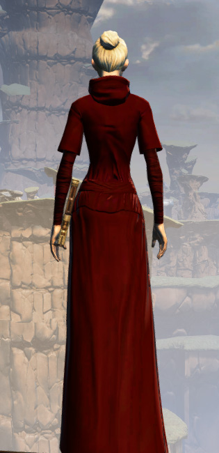 Life Day Robes Armor Set player-view from Star Wars: The Old Republic.