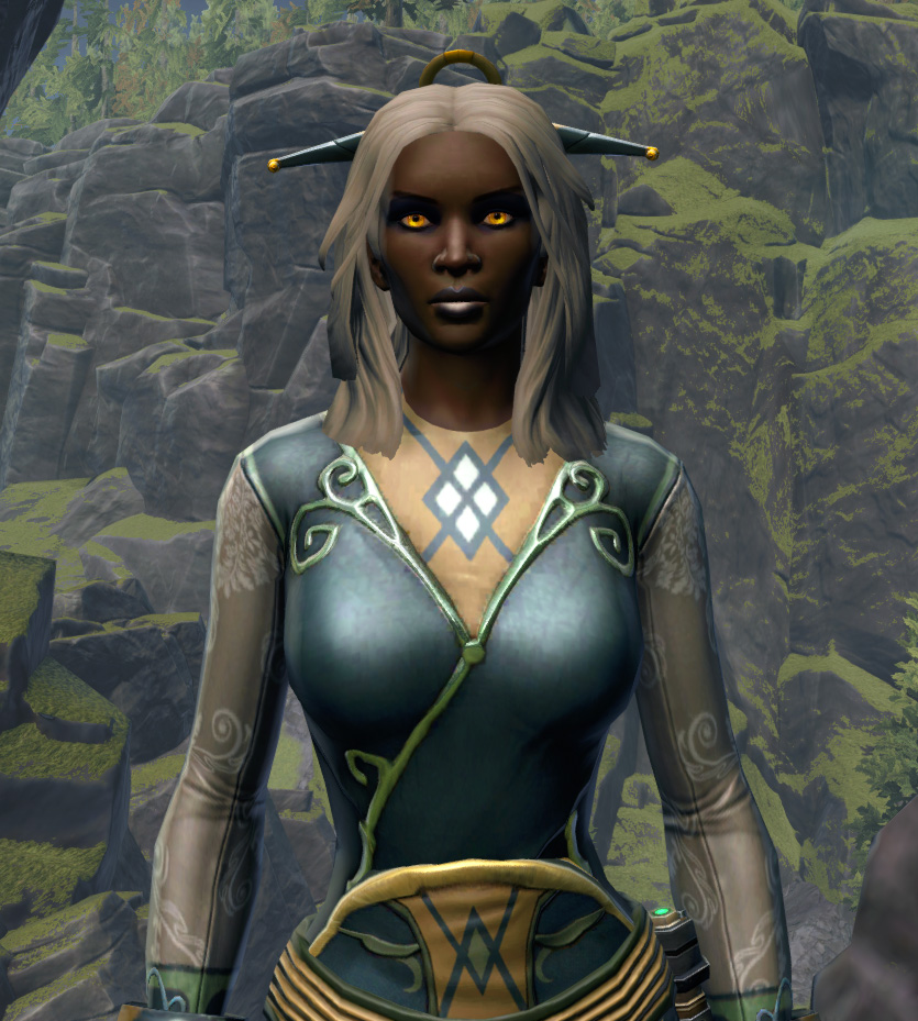 Luxurious Dress Armor Set from Star Wars: The Old Republic.
