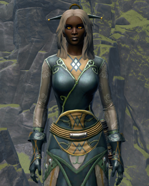 Luxurious Dress Armor Set Preview from Star Wars: The Old Republic.